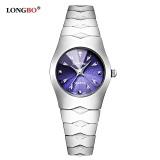 Ulasan Longbo Beberapa Alloy Watchband Olahraga Bisnis Quartz Bulat Quartz Watch Jam Tangan 9201 Intl
