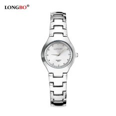 Toko Longbo Lovers Alloy Strap Sport Business Quartz Round Watch Wristwatches 8201 Intl Dekat Sini