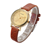 Longbo Luxury Quartz Watch Casual Fashion Kulit Jam Tangan Wanita Watch Olahraga Jam Tangan 80035 Promo Beli 1 Gratis 1