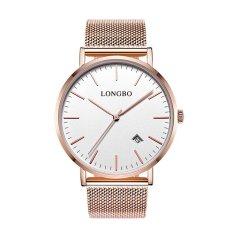 Harga Longbo Stainless Steel Tali Pecinta Beberapa Quartz Watches Emas Arloji 5009 Online Tiongkok