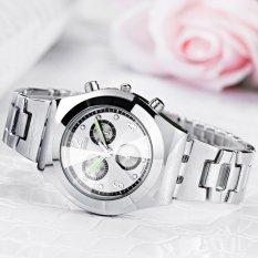 Harga Longbo Luxury Waterproof Wanita Ladies Alloy Strap Quartz Watch Arloji 8399 Skmei Intl Termurah