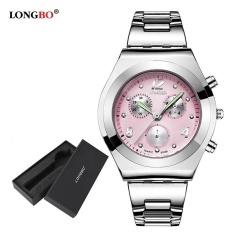 Jual Longbo Wanita Mewah Jam Ladies Quartz Watch Women Wrist Watch 8399 Watch Gift Box Intl Murah Di Tiongkok