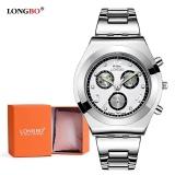Ulasan Tentang Longbo Luxury Women Watch Ladies Quartz Watch Women Wristwatch 8399 Watch Gift Box Intl