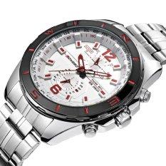 Jual Longbo Man Fashion Stainless Steel Strap Sport Bisnis Casual Quartz Watch Untuk Mans Fashion 80249 Internasional Branded Original