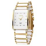 Toko Longbo Tahan Air Mewah Persegi Bisnis Keramik Arloji Watches Kasual Beberapa Quartz Watch 8395A Intl Online Tiongkok