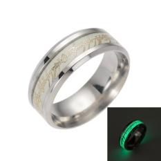 Lord Of The Rings Shiny Neon Film Cincin Pecinta Ring Cincin Bercahaya Glow In The Dark- INTL