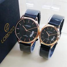 Lorenzo Original LZ1002OS - Jam Tangan Couple - Pasir Steel Strap - Analoge  Watch c5cae24d5c