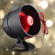 Loud Klakson Cadangan Siren 120dB Pembicara untuk Mobil Otomatis Van Truk Alarm Sistem-Internasional