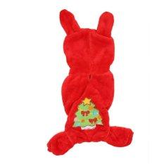 Indah Hewan Peliharaan Anjing Natal Salju Fairy Berubah Pakaian Anjing Pakaian Untuk Kucing Anjing (M)-Intl