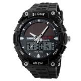 Toko Lovesport Wrist Watch Sport Watches Pria Mewah Outdoor Tahan Air Lcd Watch Hitam Dekat Sini