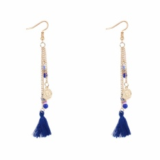 Rp 18.300. LRC Anting Gantung Bohemia Coin Shape Decorated Tassel EarringsIDR18300. Rp 18.300. LRC Anting Tusuk Elegant Flower Shape Decorated ...
