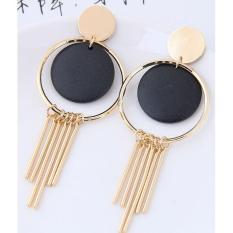 LRC Anting Tusuk Vintage Tassel Decorated Earrings
