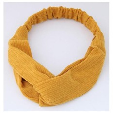 LRC Bando Sweet Grid Pattern Decorated Wide Hair BandIDR25800. Rp 26.000