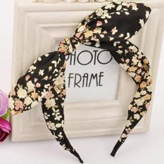 Rp 20.000. LRC Bando Mobile Multicolor bowknot decorated flower pattern designIDR20000