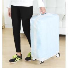 Beli Luggage Cover 24 Inch Semi Transaparant Baru