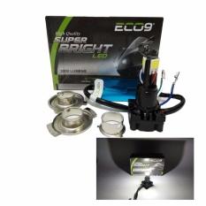 Luminos Lampu LED 3 Motor H4 Hs1 H6 AC DC 36 Watt Hi Lo - Putih