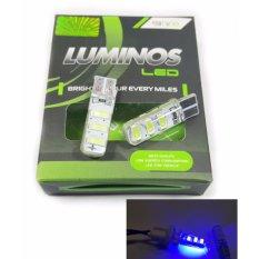 Luminos Lampu Led Senja Kota Motor Mobil T10 - Biru