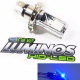 Jual Luminos Lampu Motor Led H4 Hs1 Biru Mahavariasi Ori