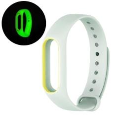 Beli Luminous Double Warna Tpe Watch Band Wrist Strap Untuk Mi Band 2 Hijau Muda Internasional Not Specified Dengan Harga Terjangkau