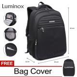 Toko Luminox Tas Ransel Laptop Tas Pria Tas Wanita Tas Laptop Backpack Up To 15 Inch Anti Air 5911 Hitam Bonus Bag Cover Luminox