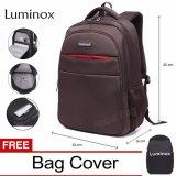 Beli Luminox Tas Ransel Laptop Backpack Up To 15 Inch Anti Air 5912 Coklat Bonus Jas Hujan Baru