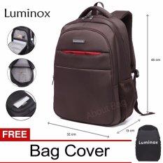 Promo Luminox Tas Ransel Laptop Backpack Up To 15 Inch Anti Air 5912 Coklat Bonus Jas Hujan Akhir Tahun