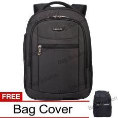 Review Luminox Tas Ransel Laptop Tahan Air Tas Pria Tas Wanita 7705 Backpack Expandable Up To 15 Inch Bonus Bag Cover Hitam Luminox Di Dki Jakarta