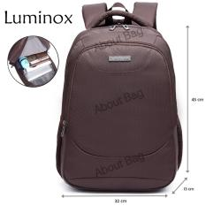 Luminox Tas Ransel Laptop Tahan Air 62059 Backpack Up to 15 inch - Coffee