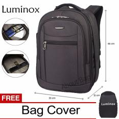Ulasan Tentang Luminox Tas Ransel Laptop Tahan Air 7705 Backpack Expandable Up To 15 Inch Bonus Bag Cover Hitam