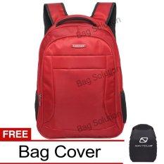 Luminox Tas Ransel Laptop Tahan Air - Tas Pria Tas Wanita 7725 Backpack Up to 15 inch Bonus Bag Cov