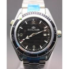 Luxe Gloednieuwe Skyfall Limited Edition Dive Mens Sport Rvs Armband Zwart Blauw Gents Automatische Mechanische Horloges - intl