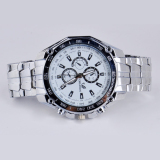 Luxury Men S Fashion Stainless Steel Band Sport Quartz Bisnis Og Watch Jam Tangan Putih Diskon Akhir Tahun