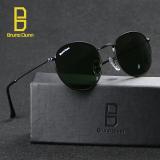 Harga Mewah Logam Wanita Merek Designer Sunglasses Fashion Kacamata Matahari Vintage Lunette De Soleil Bd 3447 Hitam Frame Grey Lens Intl Paling Murah