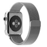 Jual Luxury Milanese Stainless Steel Watchband For Apple Watch 38Mm Silver