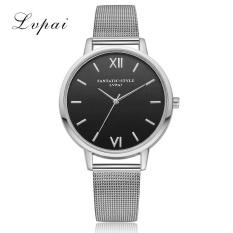 Beli Barang Lvpai Watches Wanita Quartz Arloji Clock Wanita Dress Hadiah Jam Tangan Silver Intl Online
