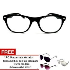 Berapa Harga Lyn S Glasses Kacamata Korea Style Kr308 Kacamata Unisex Hitam Free Kacamata Aviator Termasuk Kotak Kacamata Dan Lap Kacamata Lyn S Glasses Di Indonesia
