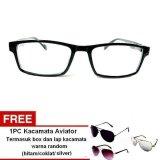 Harga Lyn S Glasses Kacamata Korea Style Kr404 Kacamata Unisex Hitam Free Paket Kacamata Aviator Terbaru