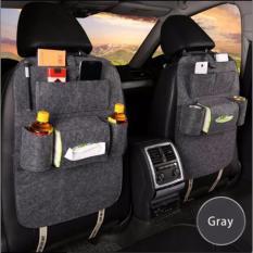 Lynx Car Seat Organizer Bag Elegan Tas Kursi Jok Mobil - Abu ( Grey )