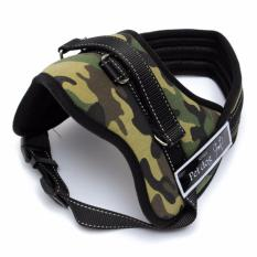 Jual Lynx Rompi Pengaman Anjing Besar High Quality Adjustable Harness Vest Nylon For Large Dog Size Xl Camouflage Green