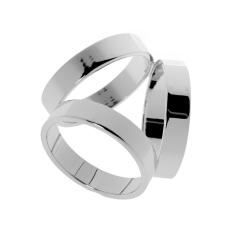 MagiDeal Fashion Silver Trio Syal Sutra Gesper Klip Menyelipkan Cincin Perhiasan-Internasional