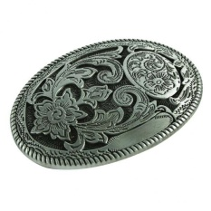Beli Magideal Vintage Tang Pola Bunga Hippie Western Cowboy Belt Buckle Untuk Mens Hadiah Intl Murah Tiongkok