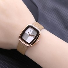 Spek Magma Mini Leather Dark Brown Jam Tangan Wanita Cewek Murah Dark Brown Indonesia