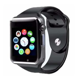 Ulasan Lengkap Mairu A1 Bluetooth Smart Watch With Camera For Android And Ios Hitam
