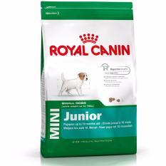 Makanan Anjing Dog Food Royal Canin Mini Junior 4 Kg Promo Beli 1 Gratis 1