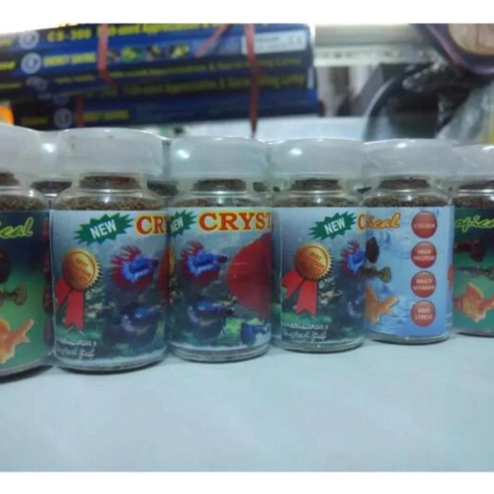 Makanan Khusus Ikan Cupang : Crystal - 6 pcs