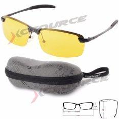Diskon Produk Malam Visi Mengemudi Kacamata Terpolarisasi Kacamata Hitam Kuning Lensa Hitam Bingkai Os386 Sz
