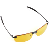 Malam Visi Mengemudi Kacamata Terpolarisasi Kacamata Hitam (Kuning Lensa + Hitam  Bingkai) OS386-SZ  cd5e0a70c0