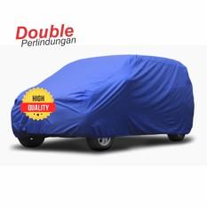 Mantroll Cover Mobil Agya dan Ayla Biru Benhur / Jas Mobil Berkualitas / Mantel Mobil Original / Sarung Mobil Mantroll / Cover Penutup Mobil Original