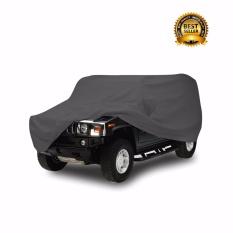 Mantroll Cover Mobil Khusus Toyota Kijang Grand Extra  / Pelindung Mobil Mantroll Original / Jas Mobil Berkualitas / Sarung Mobil Original / Mantel Penutup mobil  - Abu Metalic