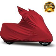Mantroll Cover Motor Khusus Honda Vario 125-150cc / Pelindung Motor Mantroll Original / Jas Motor Berkualitas / Sarung Motor Original / Mantel Penutup Motor - Merah Cabai